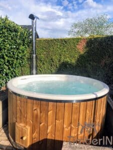 Wood fired hot tub with jets – TimberIN Rojal 2 2