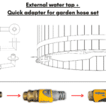 External water tap quick connection wellness basic