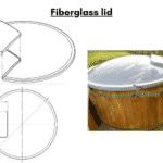 Fiberglass lid wellness basic