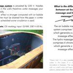 Hydro massage system