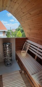 Outdoor Garden Sauna Igloo Design 1