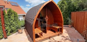 Outdoor Garden Sauna Igloo Design 3