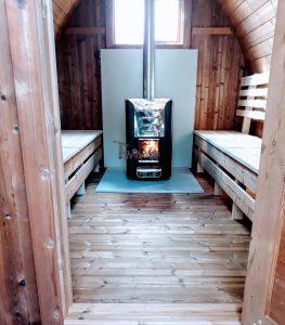 Outdoor Garden Sauna Pod – Iglu 2