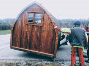 Outdoor Garden Sauna Pod – Iglu 4