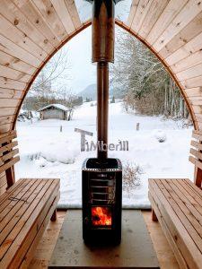Outdoor Garden Sauna Pod Iglu 1 1