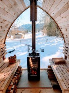 Outdoor Garden Sauna Pod Iglu 3 1