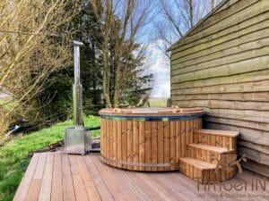 Outdoor home sauna pod 1 2