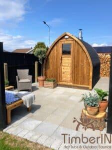 Outdoor home sauna pod 1 4