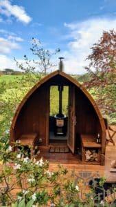 Outdoor home sauna pod 4 1
