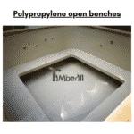 Polypropylene open benches for square rectangular hot tub