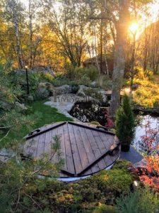 Terrace hot tub diy project 2