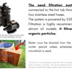 The sand filtration system