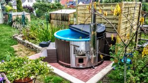 WELLNESS NEULAR SMART Scandinavian hot tub no maintenance required 1 3