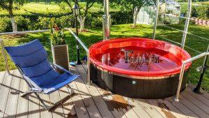 WELLNESS NEULAR SMART Scandinavian hot tub no maintenance required 2 2
