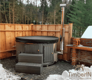 Wood fired hot tubs WPC 1