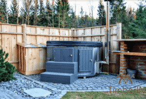 Wood fired hot tubs WPC 2