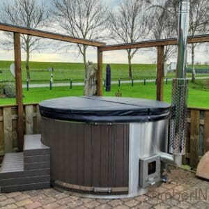 Wood or Pellet fired hot tubs WPC 2