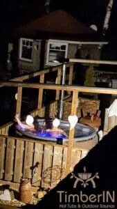 Wood or Pellet fired hot tubs WPC 3
