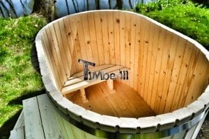 Wood Ofuro for 2 persons siberian spruce TimberIN 6