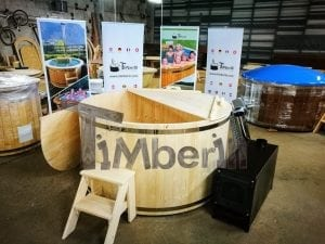 Wooden hot tub basic model by TimberIN 1
