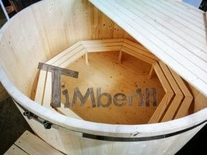 Wooden hot tub basic model by TimberIN 9