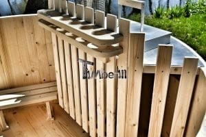 Wooden hot tub basic model made of siberian spruce larch 19