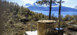 Wooden hot tub for 2 persons 1