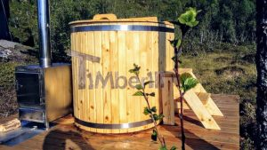 Wooden hot tub for 2 persons 2