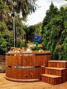 wooden hot tub thermo wood basic 1