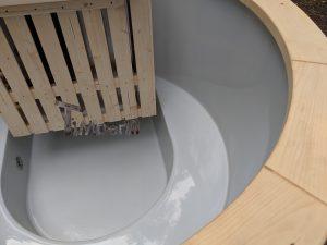 Classic hot tub with internal wood burner 2