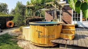 Electric outdoor hot tub spa 4