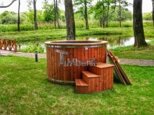 Electricity heated hot tub for garden 1