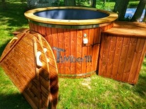Electricity heated hot tub for garden 15