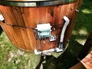 Electricity heated hot tub for garden 16
