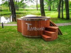 Electricity heated hot tub for garden 3