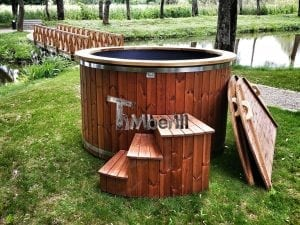 Electricity heated hot tub for garden 4