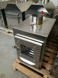 External wood fired stove for hot tubs 12