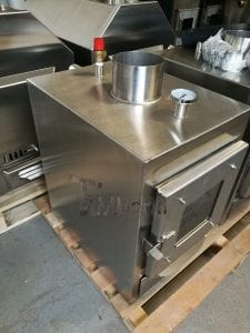 External wood fired stove for hot tubs 13