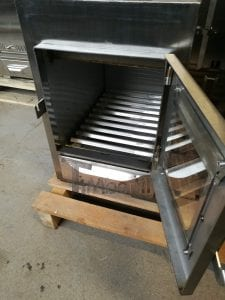 External wood fired stove for hot tubs 17