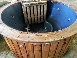 Fiberglass hot tub with snorkel heater Wellness Basic 5
