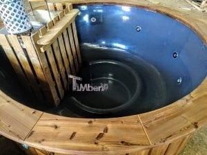 Fiberglass hot tub with snorkel heater Wellness Basic 7
