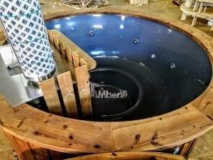 Fiberglass hot tub with snorkel heater Wellness Basic 8