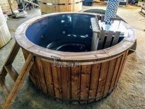 Fiberglass hot tub with snorkel heater Wellness Basic 9