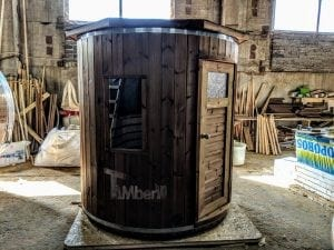 Outdoor sauna for limited garden space 10