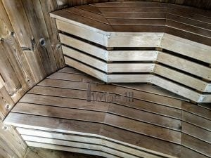 Outdoor sauna for limited garden space 18
