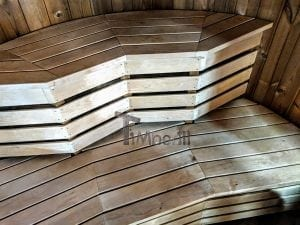 Outdoor sauna for limited garden space 19