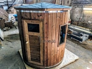 Outdoor sauna for limited garden space 2
