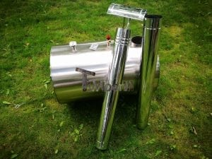 Outside round stainless steel heater for hot tubs 11