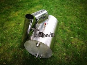 Outside round stainless steel heater for hot tubs 12