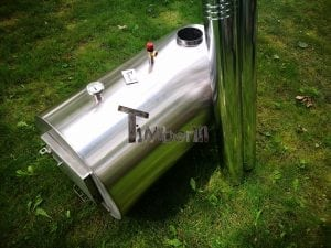 Outside round stainless steel heater for hot tubs 5